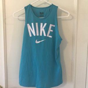 Blue Nike tank
